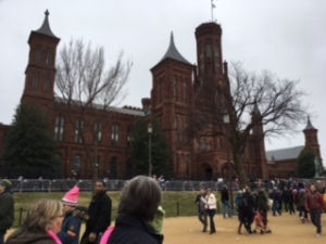 The Smithsonian Castle.